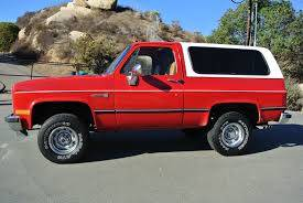 Chev / GMC Trucks 1941 - 1990's - GM Blazer / Jimmy