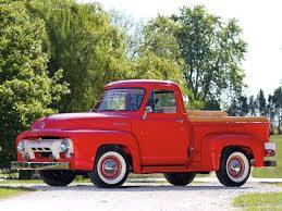 Ford Trucks 1948 - 1990's - Ford F Series Pickups 1953-1956