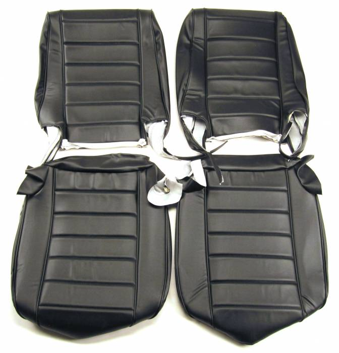 Seatz Manufacturing - IN STOCK HOT DEAL! JEEP CJ Style 1976-1986 Upholstery kit for Low Back Front Bucket seats * Black