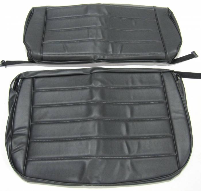 Seatz Manufacturing - JEEP YJ Style 1991-1996 Upholstery kit for Folding Rear Bench seat