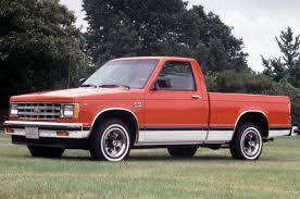 Chev / GMC Trucks 1941 - 1990's - GM S10 S15 Small Trucks