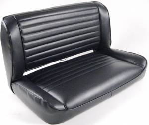 rear bench installed view