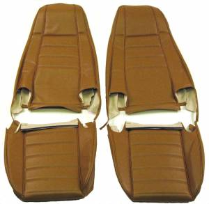 Jeep CJ, YJ, TJ, Jeepster, Comanche - Jeep CJ5, CJ7, CJ8 1972-1985 - Seatz Manufacturing - JEEP YJ Style 1986-1990 Upholstery kit for High Back Front Bucket seats