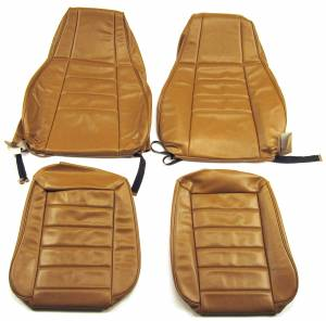 Jeep CJ, YJ, TJ, Jeepster, Comanche - Seatz Manufacturing - JEEP YJ Style 1991-1996 Upholstery kit for High Back Front Bucket seats *Reclining