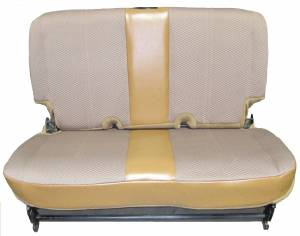 Jeep original rear bench seat example