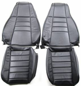 Jeep CJ, YJ, TJ, Jeepster, Comanche - Seatz Manufacturing - JEEP TJ Wrangler 1997-2002 Upholstery kit COMBO - Front & Rear