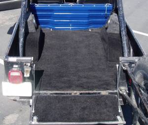 Seatz Manufacturing - JEEP CJ8 Scrambler 1981-1985 Deluxe Carpet Kit *Bulkhead Wall Installed - Image 2