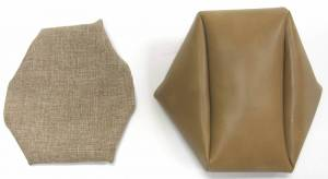 Seatz Manufacturing - IN STOCK HOT DEAL! FORD RANGER PICKUP 1998-2002 60/40 FRONT BUCKETS SEAT UPHOLSTERY KIT:  * TAN TWEED/VINYL - Image 3