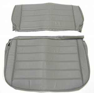 Seatz Manufacturing - JEEP YJ Style 1986-1996 Upholstery kit for Fixed Rear Bench seat