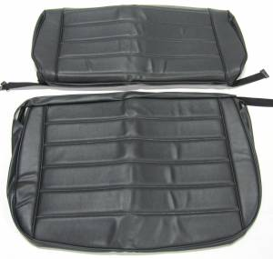 Jeep CJ, YJ, TJ, Jeepster, Comanche - Jeep YJ 1986-1996 - Seatz Manufacturing - JEEP YJ Style 1986-1996 Upholstery kit for Folding Rear Bench seat
