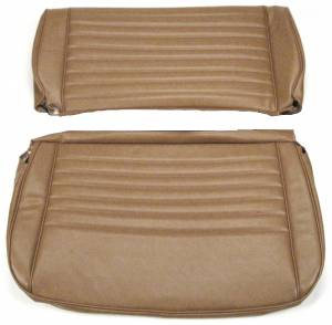 Seatz Manufacturing - JEEP CJ Style 1976-1985 Upholstery kit for Fixed Rear Bench seat
