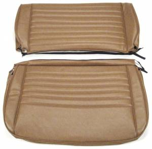 Seatz Manufacturing - JEEP CJ Style 1976-1986 Upholstery kit for Folding Rear Bench seat - Image 1