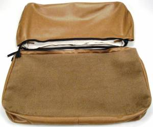 Seatz Manufacturing - JEEP CJ Style 1976-1985 Upholstery kit for Folding Rear Bench seat - Image 2