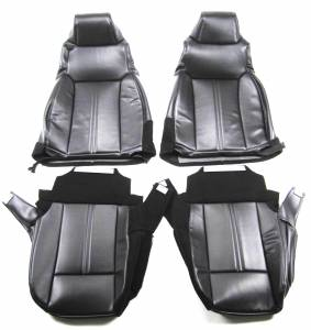 Seatz Manufacturing - JEEP TJ Wrangler 2003-2006 Combo Upholstery kit - Front Bucket seats & Rear Bench seat