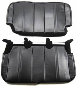 Front view of Rear Bench Upholstery