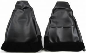 back side view of Front Bucket Backrests